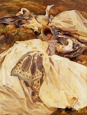 Sargent - Two Girls In White Dresses