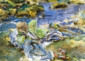 Sargent - Turkish Woman By A Stream
