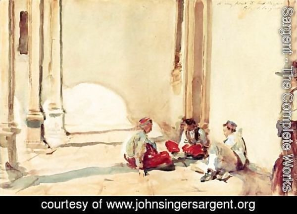 Sargent - A Spanish Barracks
