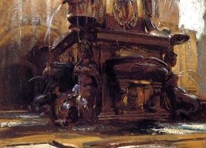 Sargent - Fountain At Bologna