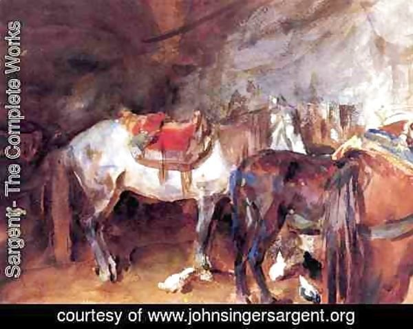 Sargent - Arab Stable
