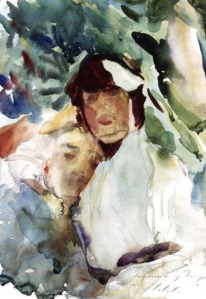 Sargent - Ena Wertheimer With Antonio Mancini