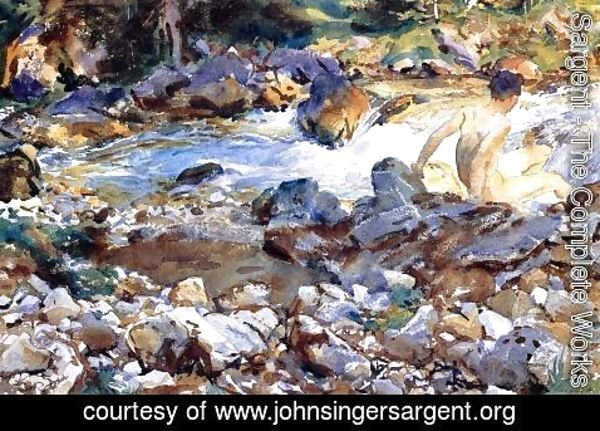 Sargent - Mountain Stream