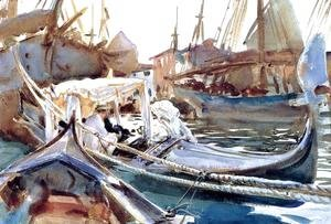 Sargent - Sketching On The Giudecca