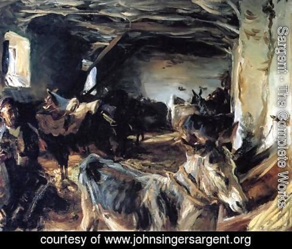 Sargent - Stable At Cuenca