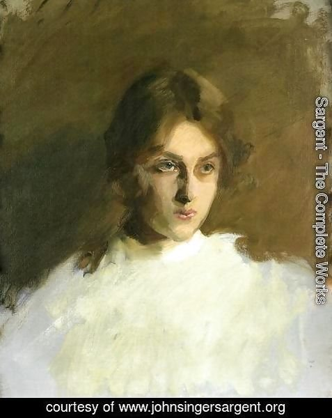 Sargent - Portrait Of Edith French