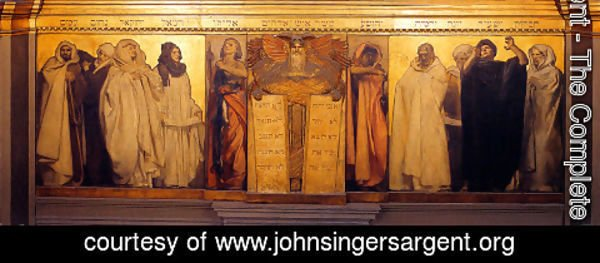 Sargent - Frieze Of Prophets