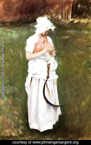 Sargent - Girl With A Sickle