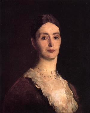 Sargent - Portrait Of Frances Mary Vickers