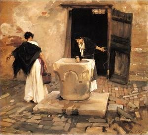 Sargent - Venetian Water Carriers