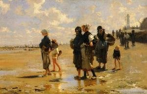 The Oyster Gatherers Of Cancale