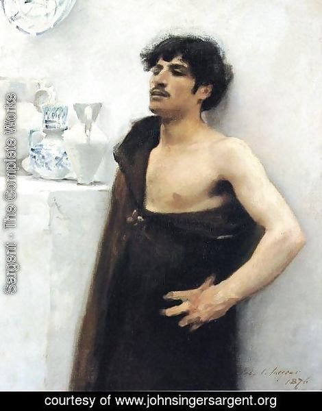 Sargent - Young Man In Reverie