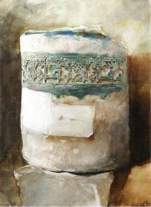 Sargent - Persian Artifact With Faience Decoration