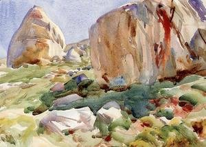 Sargent - The Simplon  Large Rocks