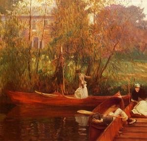 Sargent - A Boating Party