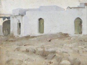 Sargent - Moorish Buildings on a Cloudy Day